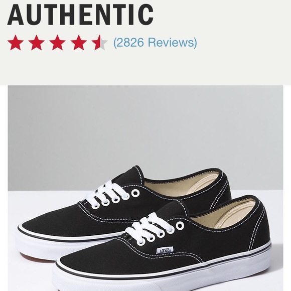 0f42edcb958c54 BRAND NEW Vans Black Lace-Up